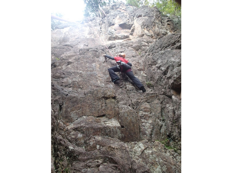 At the rocky place (slopes)