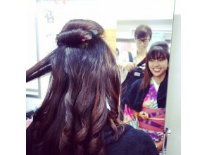 Women also have a hair set ♪ (15 minutes)
