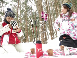 Lunch time on snow ♫