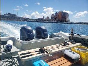 9点钟举行]离开Uminchu Wharf之后,一艘船从码头驶出!