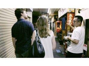 在仙台后街散步