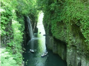 Sightseeing in Takachiho by private taxi