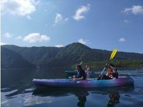 穏やかな湖上を満喫