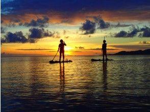 夕日を眺めながら自由に漕ぐ時間