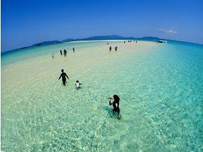 サンゴ礁やカラフルな魚とシュノーケル!