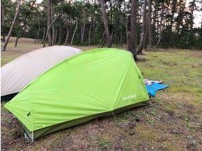 Tent setup and free time