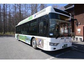 バスに乗り小田代原へ!