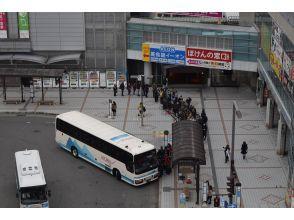 Yamagata Station No. 1 platform