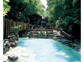 Zao hot spring town