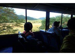 低公害バス乗車