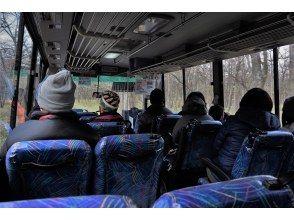 低公害バス出発
