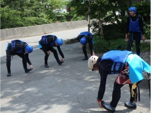 Safety explanation / preparation exercises