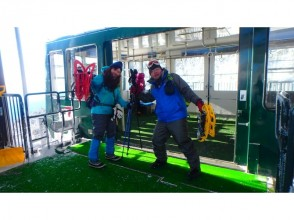 In ropeway to 2240M