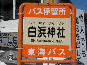 【集合場所③】白浜神社前バス停 伊豆急ホテルバス停 白浜20