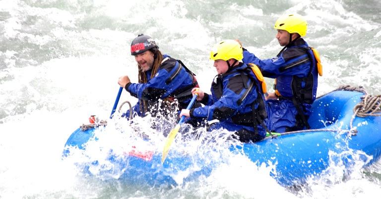 If you enjoy rafting, Hokkaido in summer is recommended