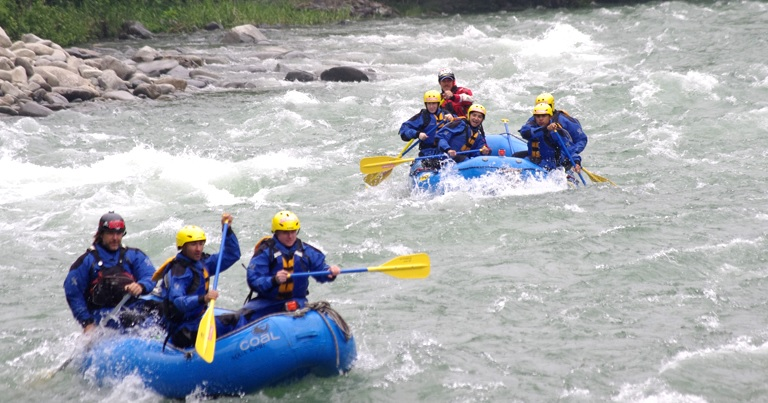 I definitely want to go! Rafting to enjoy in the torrent Shikoku Yoshino River