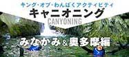 キング・オブ・わんぱくアクティビティ【キャニオニング】水上(みなかみ)&奥多摩編のバナー
