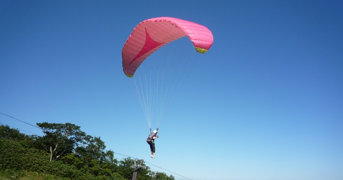 How to enjoy Paragliding