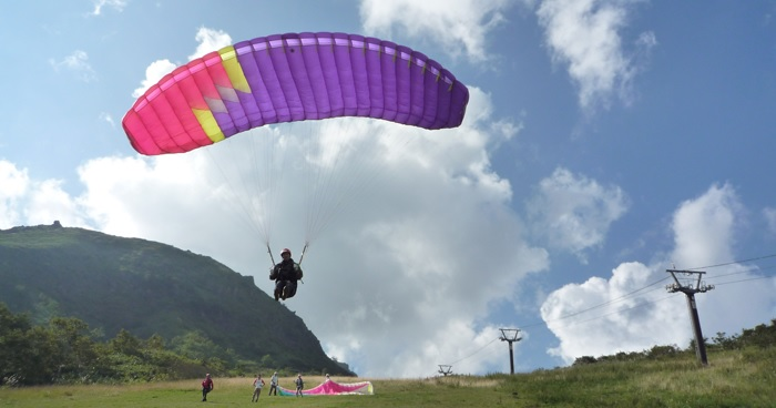 The difference between paraglider and parasailing, hang glider