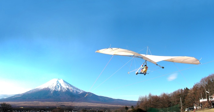 In order to acquire the license and qualification of the hang glider