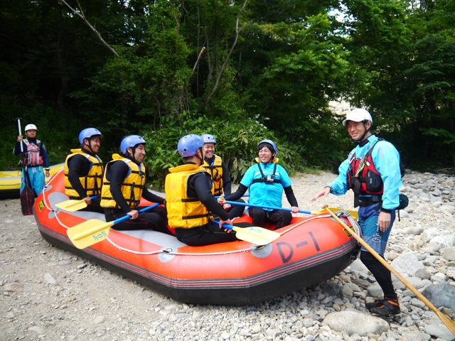 The season is fun! What? Introducing the charm of the king 'rafting' of activities