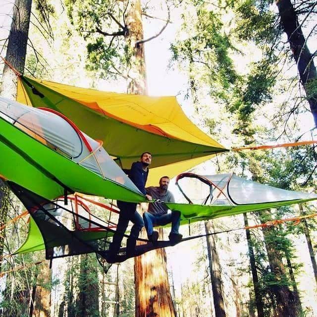 いま話題の空中に浮かぶテント「テントサイル」使い方2
