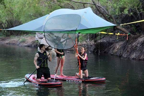 いま話題の空中に浮かぶテント「テントサイル」使い方5