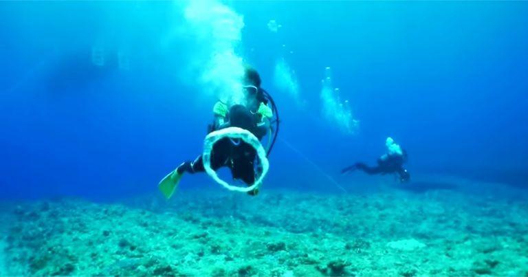 『バブルリングガン』で海中遊びをもっと楽しく!