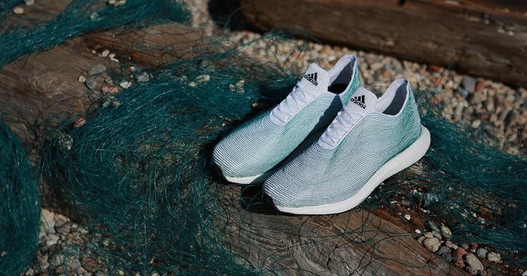 adidas×Parley for the Oceans 海からの回収廃棄材で作ったランニングシューズ!!
