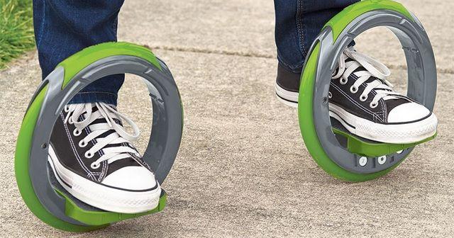 全く新しいスケート『The Sidewinding Circular Skates』!