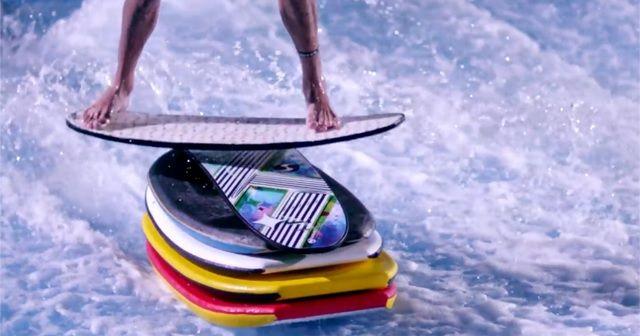 インドアサーフィン