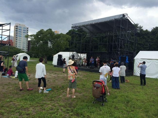 FUKUOKA MACHI CAMP PARTY in maizuru park