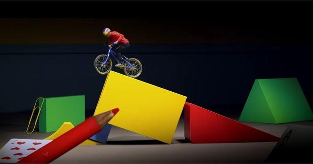 素敵な企画!おもちゃの世界を自転車が駆け巡る『Danny MacAskill's Imaginate』!!