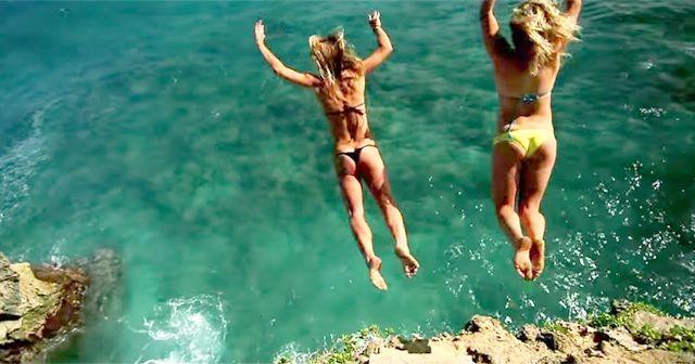 ただ飛び込むだけ!!『Cliff Diving』が楽しそう!!
