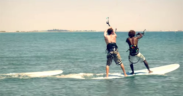 SUP×KITE SURF