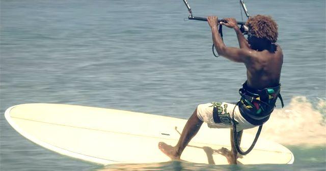 やっぱりSUPは自由!!『SUP×KITE SURF』も楽しそうです!!