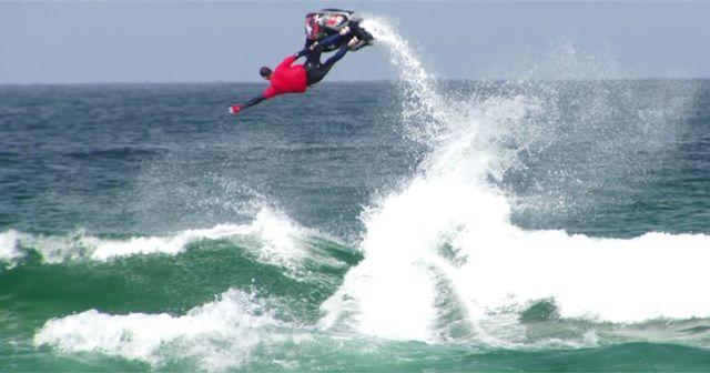 高い!!『Jet Ski Surf』でビッグエア!!!