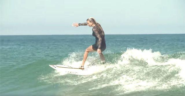 ハイヒールサーフィン