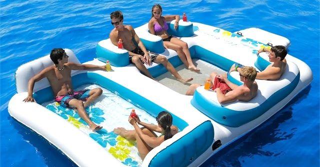 めっちゃ良い!!来年買いたい大型浮き輪『Tropical Tahiti』!!