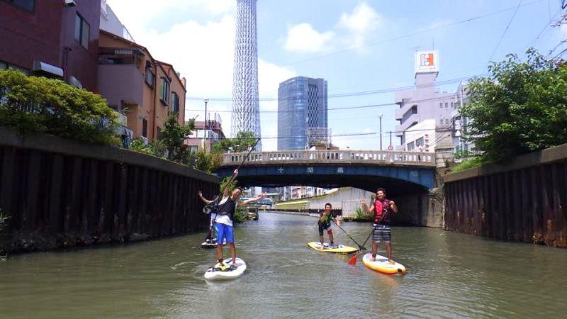SUP(スタンドアップパドル) 東京