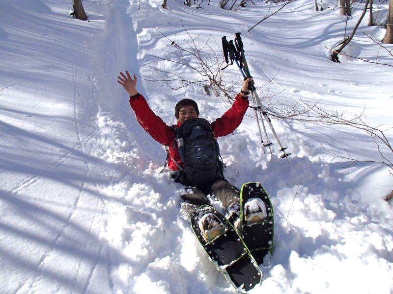 スノーシュー(snowshoeing)