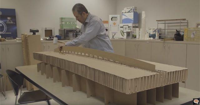 Cardboard Surfboard
