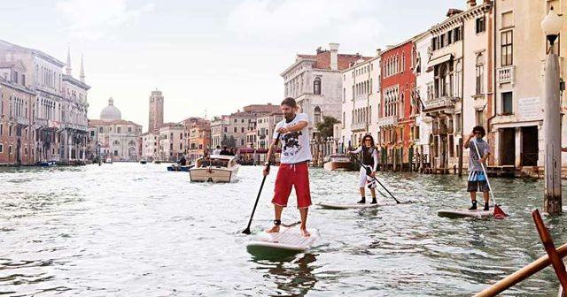 「水の都 ヴェネチア」でいつか『SUP(スタンドアップパドル)』をやりたい!!