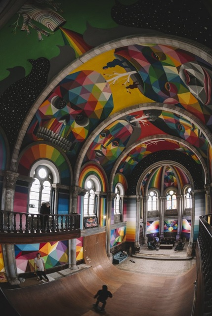 La Iglesia Skate(The Skate Church)