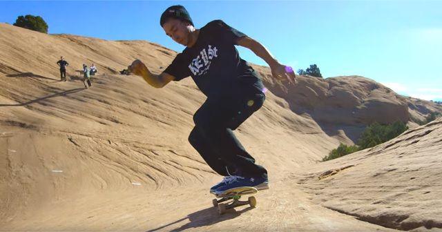 Skateboarding on Mars!