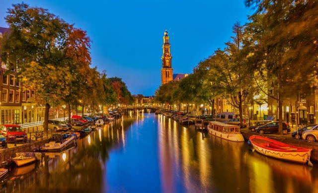 アムステルダムでSUP