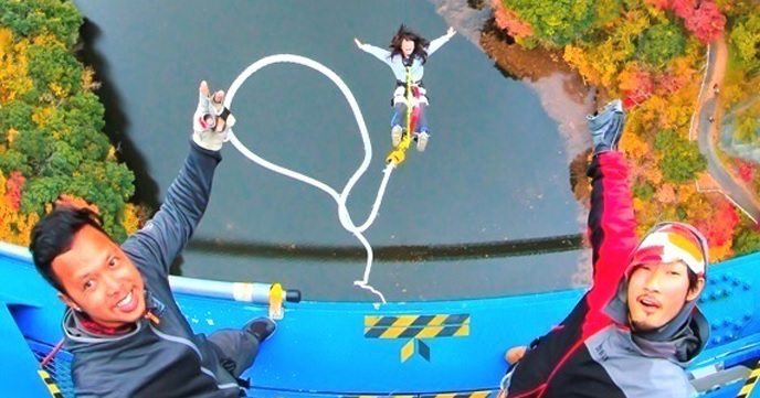 Let's experience bungee jumping advantageously