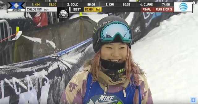 Chloe Kim(クロエ・キム)