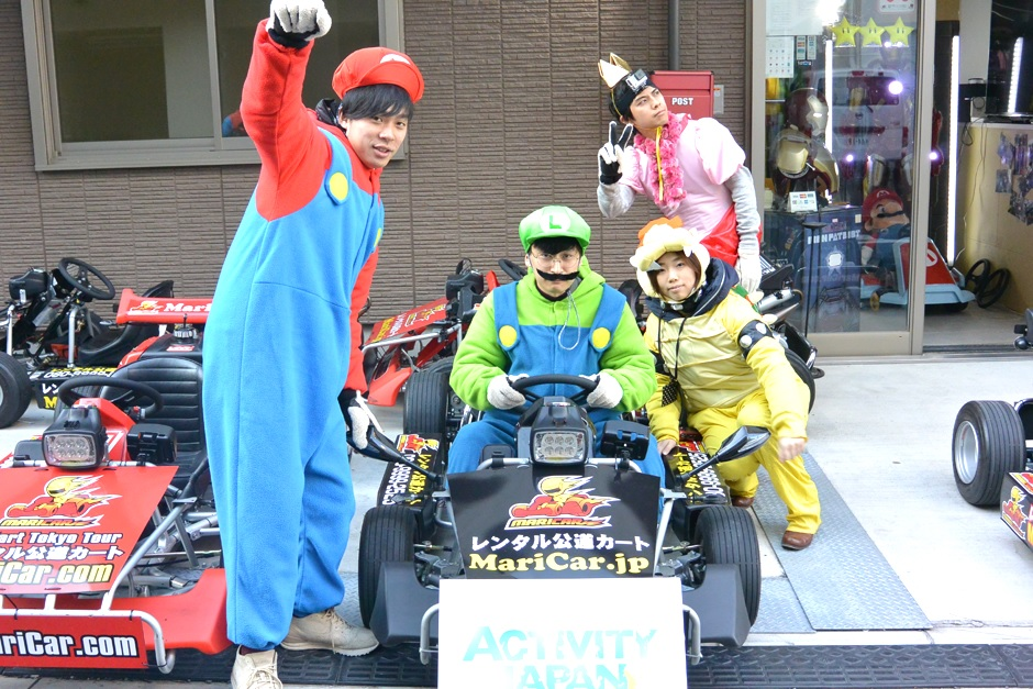 A Real Mario Kart experience report that is talked about in Tokyo!