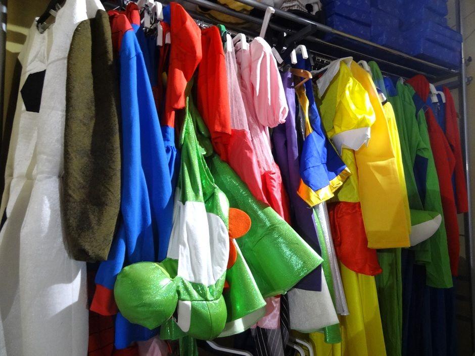At Marika Shinagawa store there are abundant types of cosplay